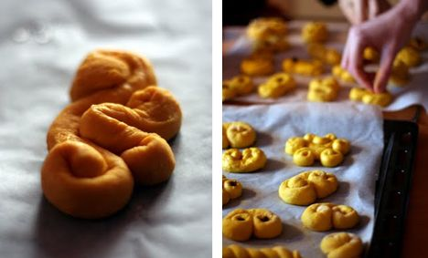 Swedish Saffron Buns. Involve others in the Swedish tradition of Christmas baking and make these scrumptious and sweet saffron buns.