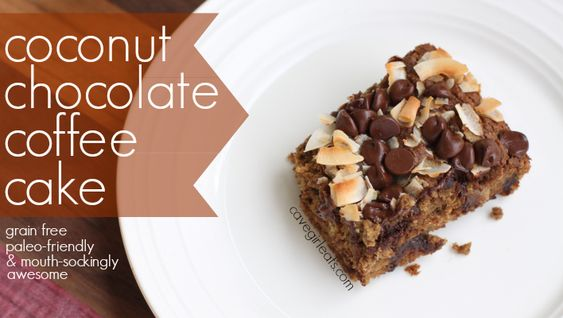 Coffee Cake With Cocnut Flour