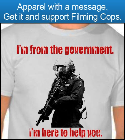 """Future Cop Says Americans Who Film Police Should be Exterminated in """"Gas Chambers"""" 