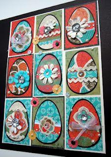 Easter Eggs from CTMH Stella leftovers Mary Gunn FUNN