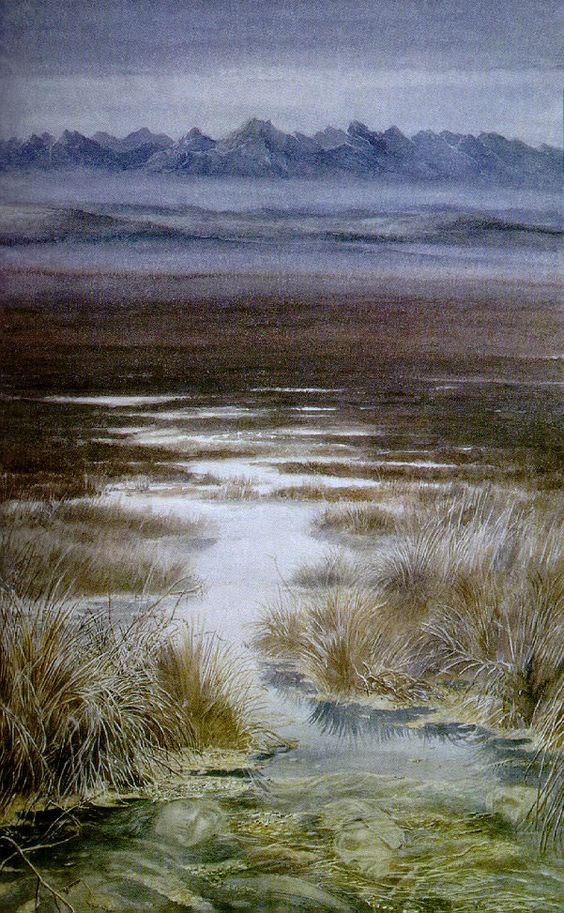Alan Lee - The Dead Marshes