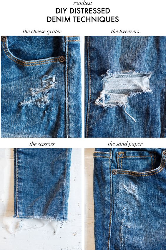 DIY Distressed denim techniques road tested