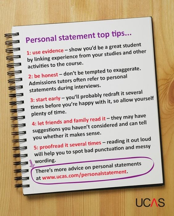 In the lead up to the application deadline, we've been sharing personal statement top tips – here are our top 5... #ucas #HE
