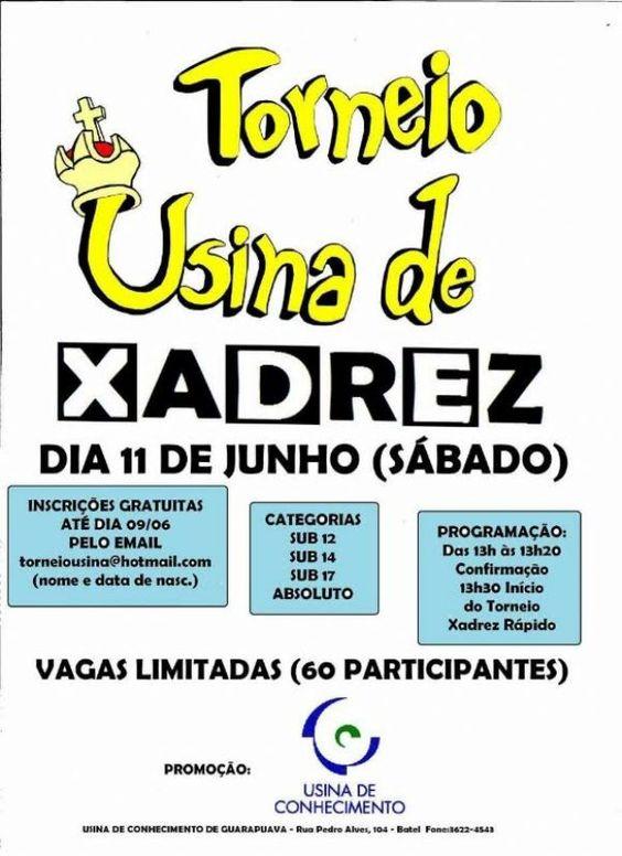 Usina do Conhecimento promove torneio de Xadrez | Central Cultura