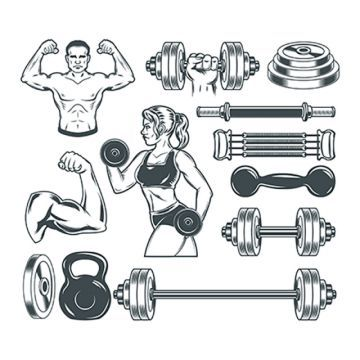 Fitness Icon Material Icons Fitness Fitness Vector Icon Vector Png Transparent Clipart Image And Psd File For Free Download Bodybuilding Fitness Icon Icon