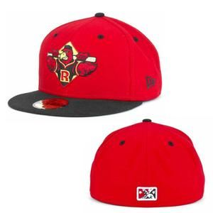 Rochester Red Wings Official New Era On-Field Cap (Red Fitted)