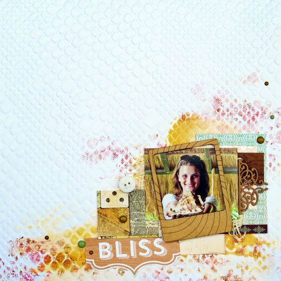 BC | Scrapbook Layout - Bliss