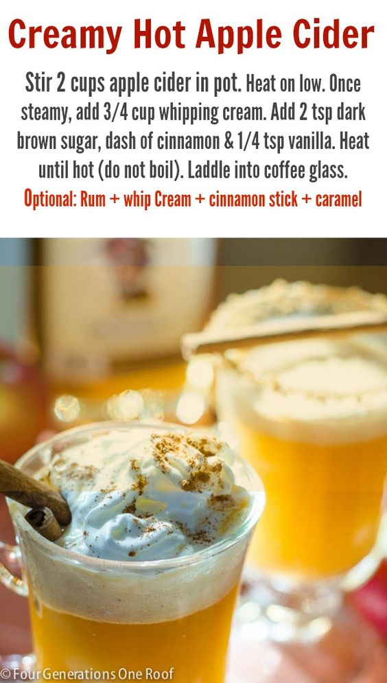 with calvados whipped cream hot spiced cider quinoa salad with apple ...