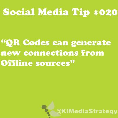Use QR Codes To Generate New Connections