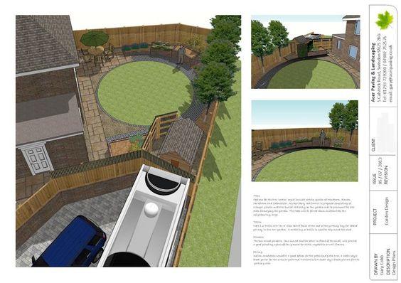 Garden design using sketchup layout garden pinterest for Garden design sketchup 8