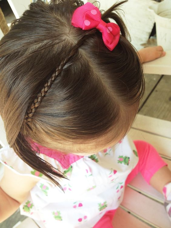 Marvelous Baby Girls Babies And Hairstyles On Pinterest Short Hairstyles For Black Women Fulllsitofus