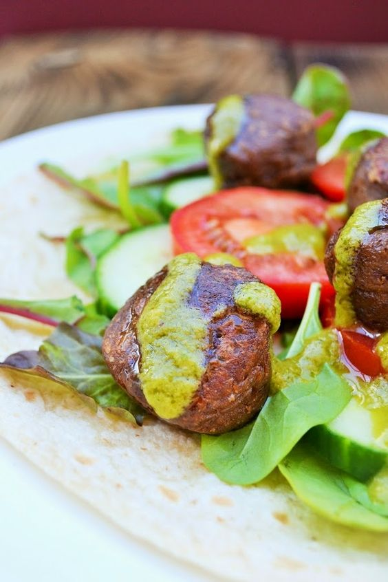 Tinned Tomatoes: Kidney Bean Falafel