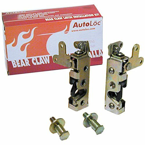 Autoloc Autbcsm Locking Mini Bear Claw Door Latch Set Bear Claws Truck Design Latches