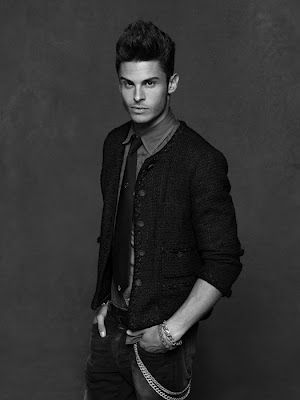 Baptiste Giabiconi with the Little Black Jacket | Chanel