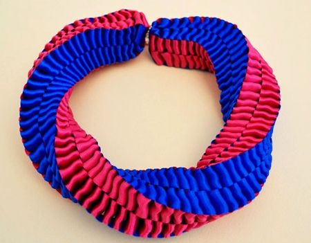 Como hacer collares con cintas: Statement Necklace, Colorblock Ribbon, Colorblock Necklace, Ideas Crafts