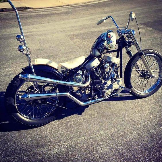 Old skool PanheadMore at Choppertown.com/bikes