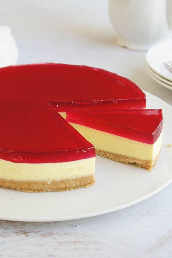 Jelly Cheesecake Recipe Jelly Cheesecake Cheesecake Recipes Desserts