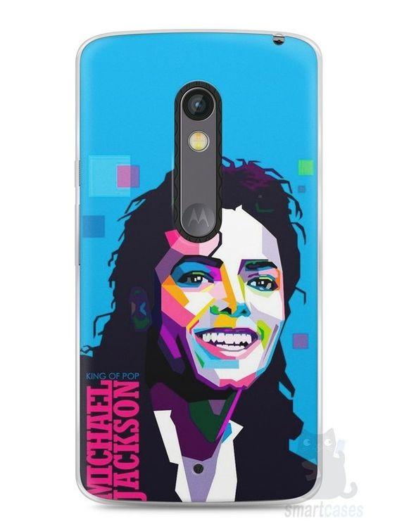 Capa Capinha Moto X Play Michael Jackson #2 - SmartCases - Acessórios para celulares e tablets :)