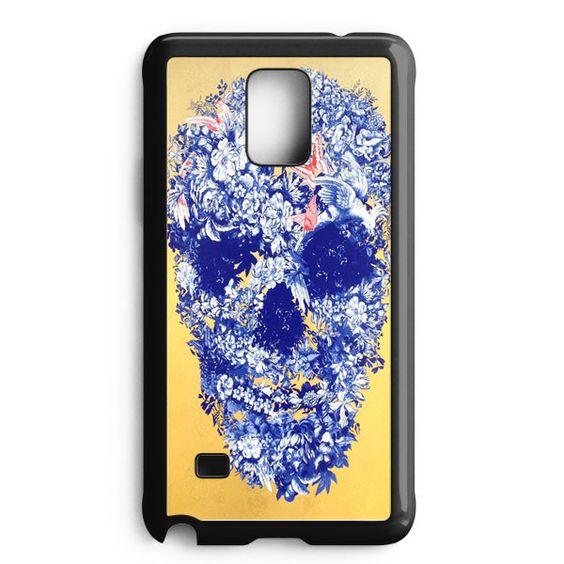 Floral Skull Samsung Galaxy Note Edge Case