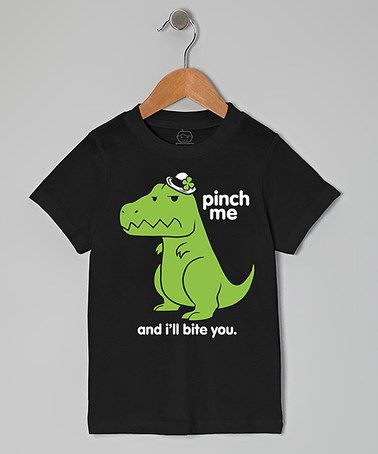 Black 'Pinch Me and I'll Bite You' Tee - Toddler by Goodie Two Sleeves #zulily #zulilyfinds