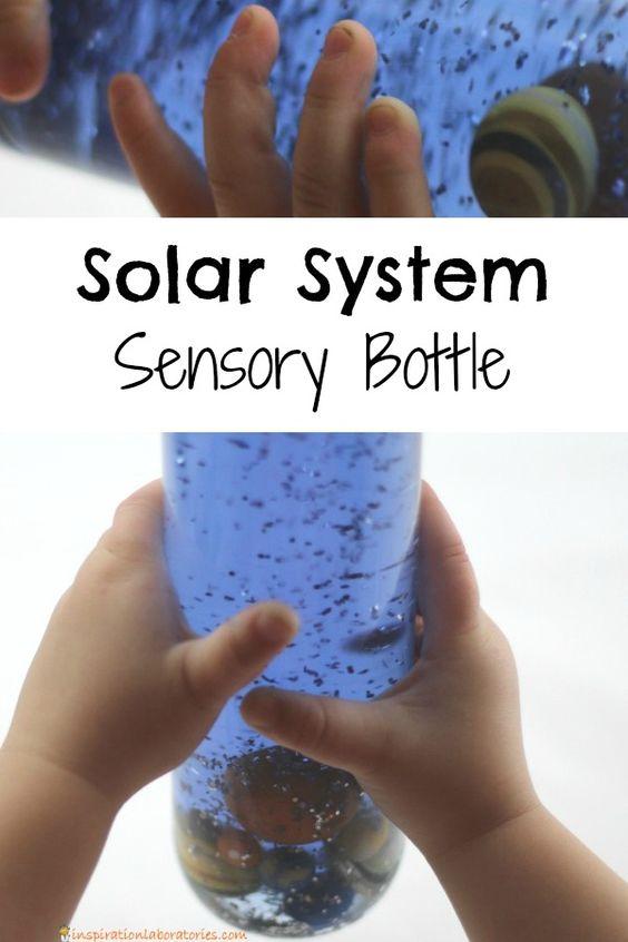 Solar System Sensory Bottle