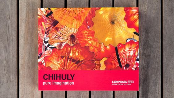 Chihuly Pure Imagination Persian Chandelier Jigsaw Puzzle. Available from ChihulyWorkshop.com. NOW SOLD OUT.