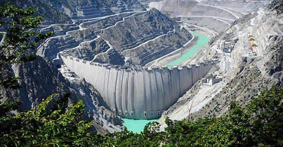 YUSUFELI DAM, TURKEY