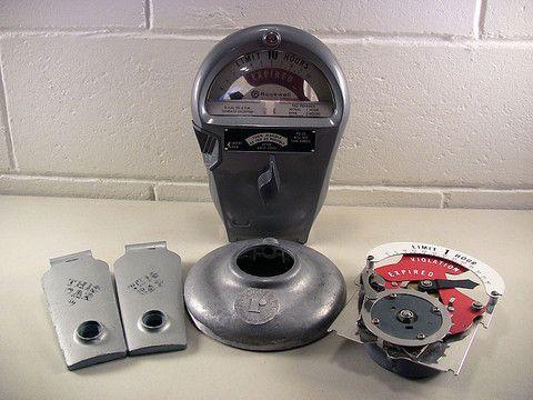 Vintage Parking Meter Parts Industrial Steampunk Decor – EclectiquesBoutique.com