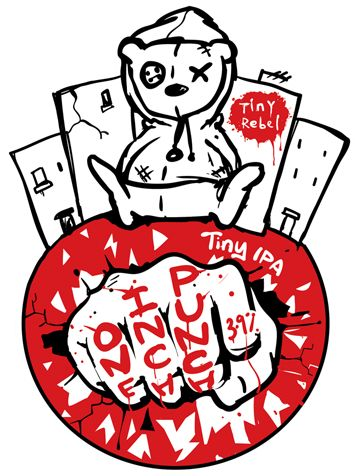Tiney Rebel - One Inch Punch, Tiny IPA