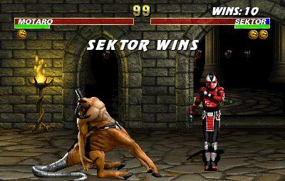 Mortal Kombat 3 Game Screenshot