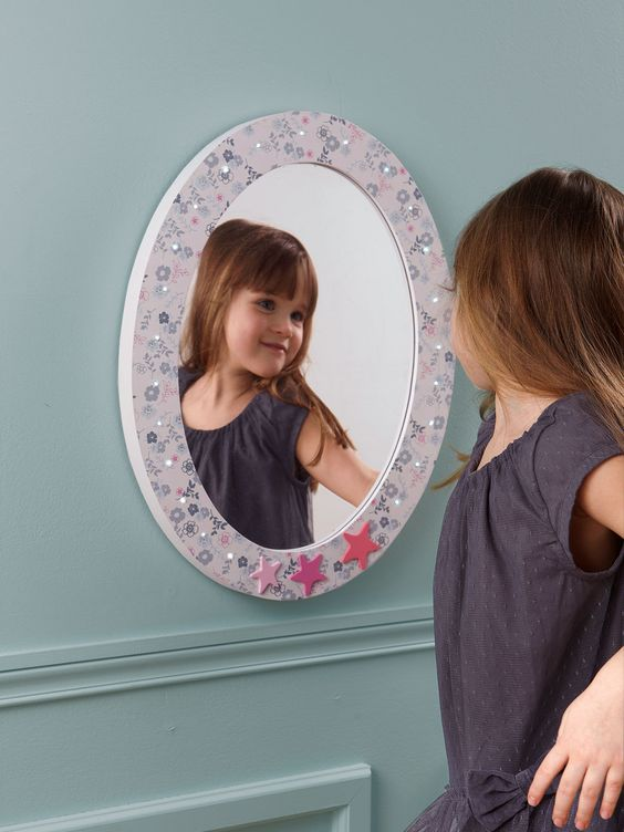espejo luminoso habitaci n ni a habitaci n infantil