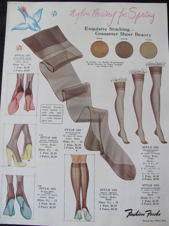 An Old Nylon Nylons Can 39
