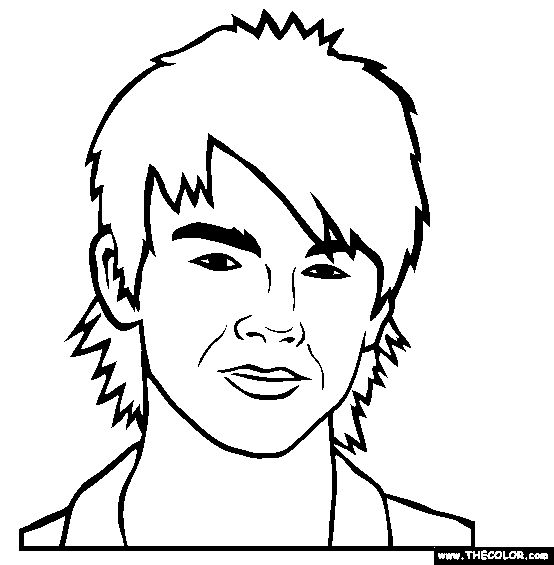 Famous people Coloring pages and Online coloring pages on
