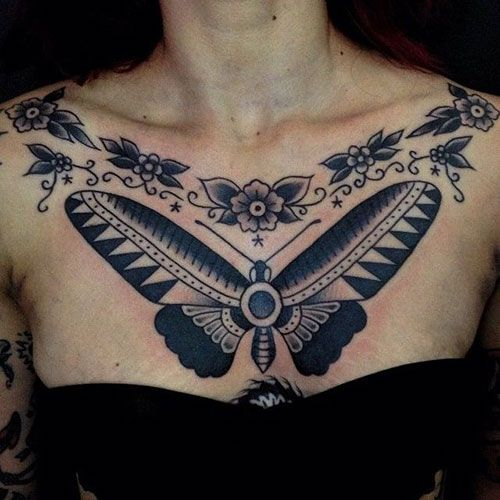 101 Best Chest Tattoos For Women 2020 Guide In 2020 Chest Tattoos For Women Best Tattoos For Women Tattoos For Women
