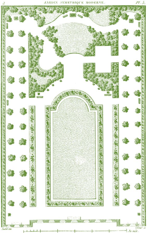 Antique Garden Plans (free to print) from the Graphics Fairy