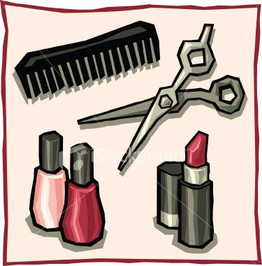 Beauty shop clip art do you care for a hairdo by a for Job salon distribution