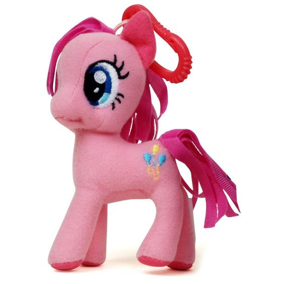 My Little Pony Friendship Is Magic 3 Inch Pinkie Pie Plush Clip Figure - Radar Toys