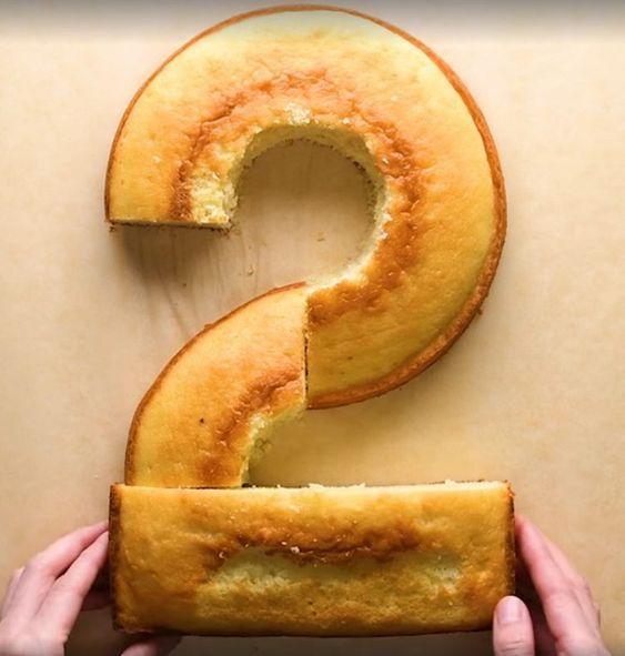 Lernen Sie Sussigkeiten Und Kuchen In Form Von Zahlen Zuzubereiten Durch Das Stob Kleinkind Geburtstagskuchen Zahl Geburtstagstorten Kinder Kuchen Geburtstag