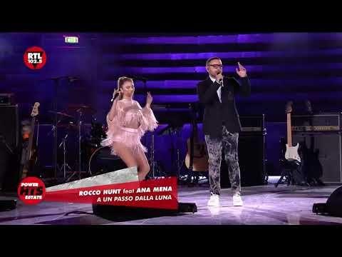 Rocco Hunt Feat Ana Mena A Un Passo Dalla Luna Live Arena Di Verona 10 09 2020 Youtube Youtube Verona Friends