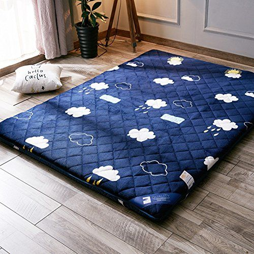 H Y Thick Sleep Mattress Topper Folding Flannel Tatami Floor Mat