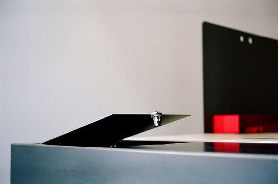 studio millimètre releases acier noir furniture collection