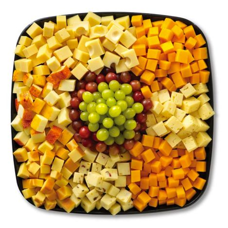 cheese tray...and crackers... My favorite !                                                                                                                                                     More