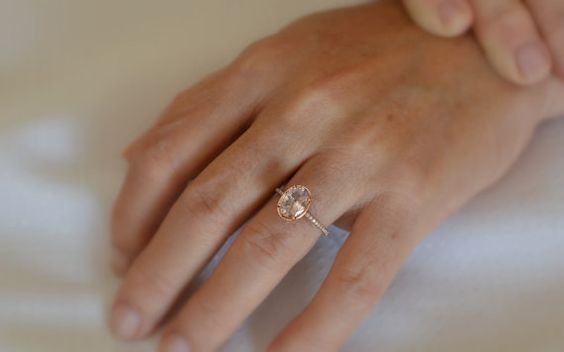 RESERVED. For Mat about  2.3 carats peach sapphire by ReneJewelry, $2800.00