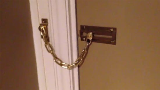Video: Hotel Door Chain Fail - A Funny Video on KillSomeTime
