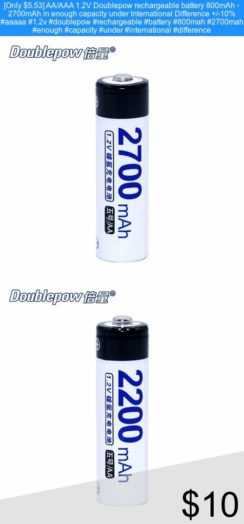 Only 5 53 Aa Aaa 1 2v Doublepow Rechargeable Battery 800mah 2700mah In Enough Capacity Under International Differe 10 Things Rechargeable Batteries Bottle