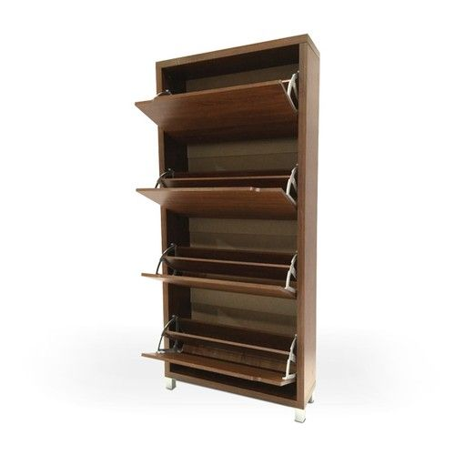 Wooden Shoe Rack For Small Shoe Rack Or Slim Cabinet For Narrow