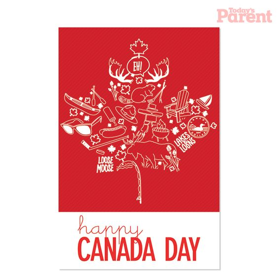 Canada Day BBQ printable: invitation template - Today's Parent