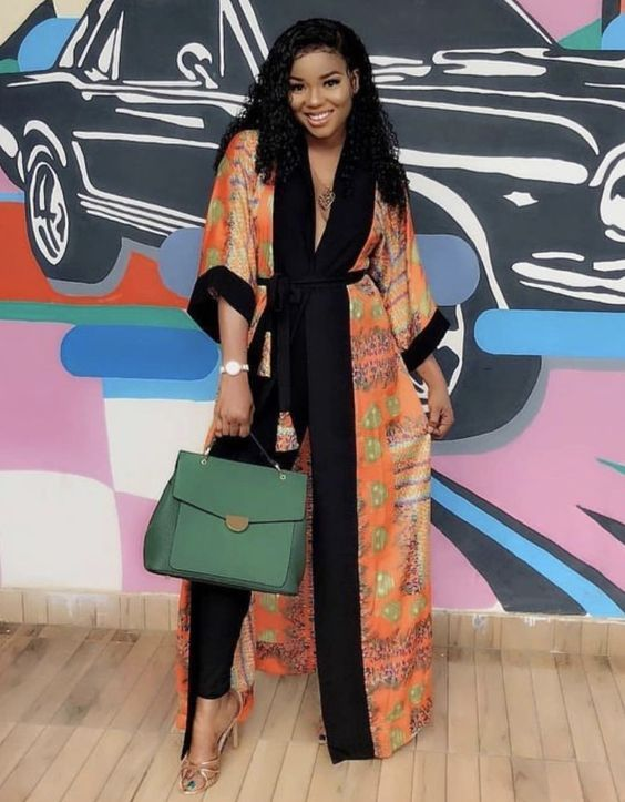 Buy African Ankara kimono, long print shirt dress, African long shirt dress, printed kimono jacket, kimono dress, kimono cardigan, free shipping online at best prices on Afrizar. We shop all our African Women Fashion, clothing, Grocery with worldwide fast delivery.