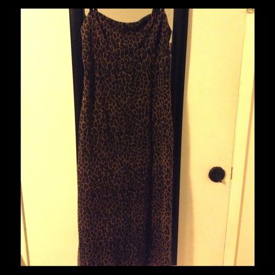 "Selling this ""Mesh Leopard Print Dress"" in my Poshmark closet! My username is: melissanbravo. #shopmycloset #poshmark #fashion #shopping #style #forsale #Dresses & Skirts"