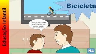 Educação Infantil - Nível 4 (crianças entre 7 a 9 anos): Bicicleta